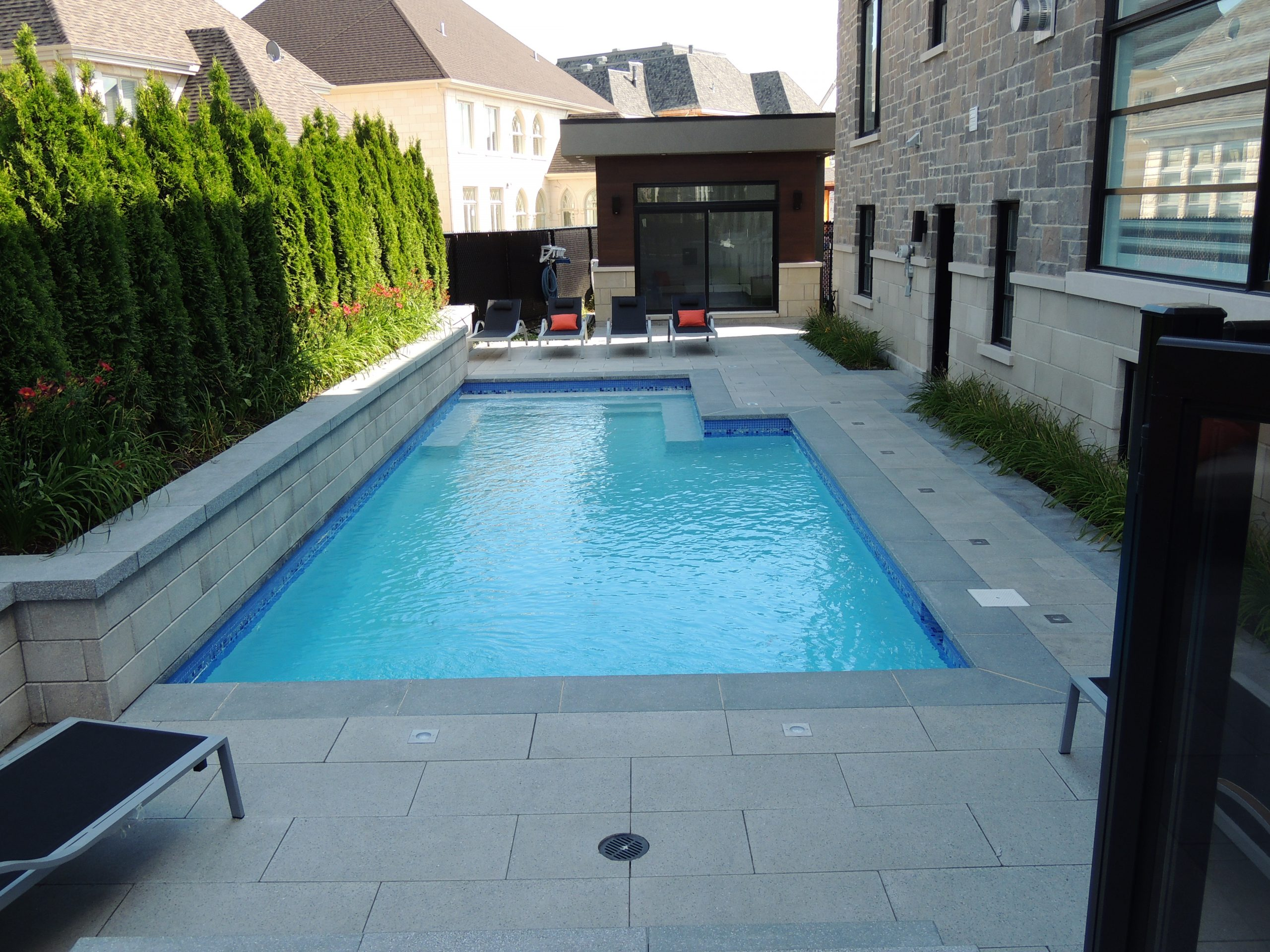 Pavé & paysagiste Boisbriand - Résidentiel - Piscine
