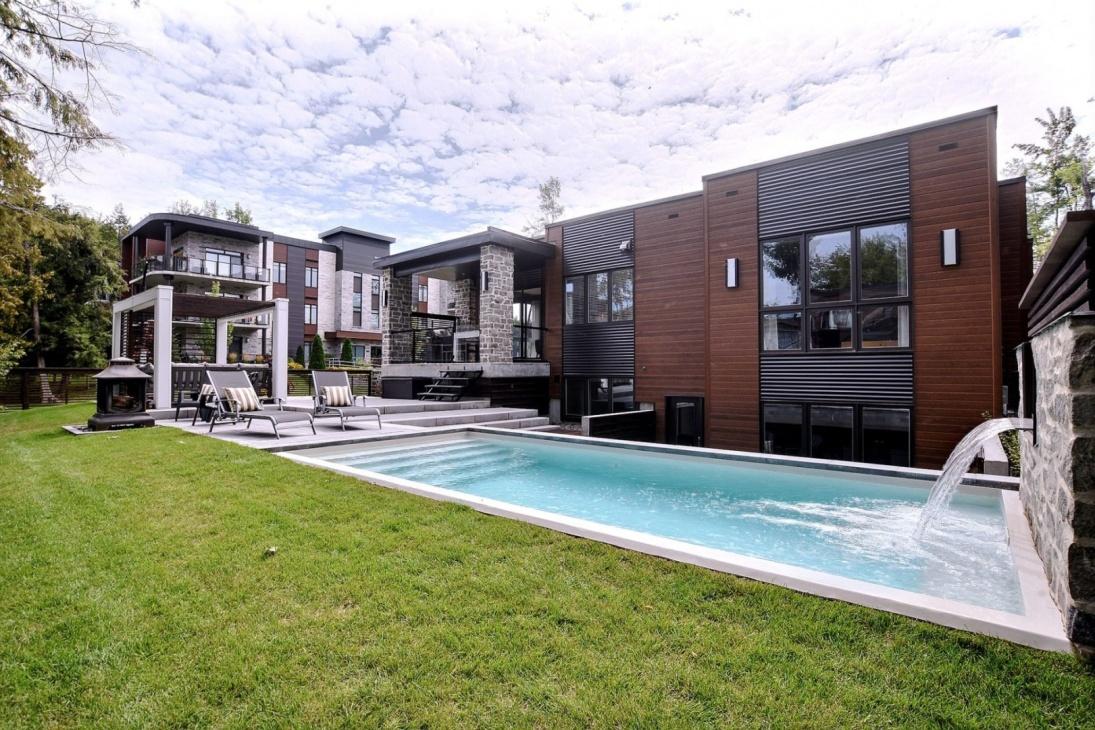 Pavé & paysagiste Boisbriand - Résidentiel - Commercial - Aménagement paysager - Lame d'eau