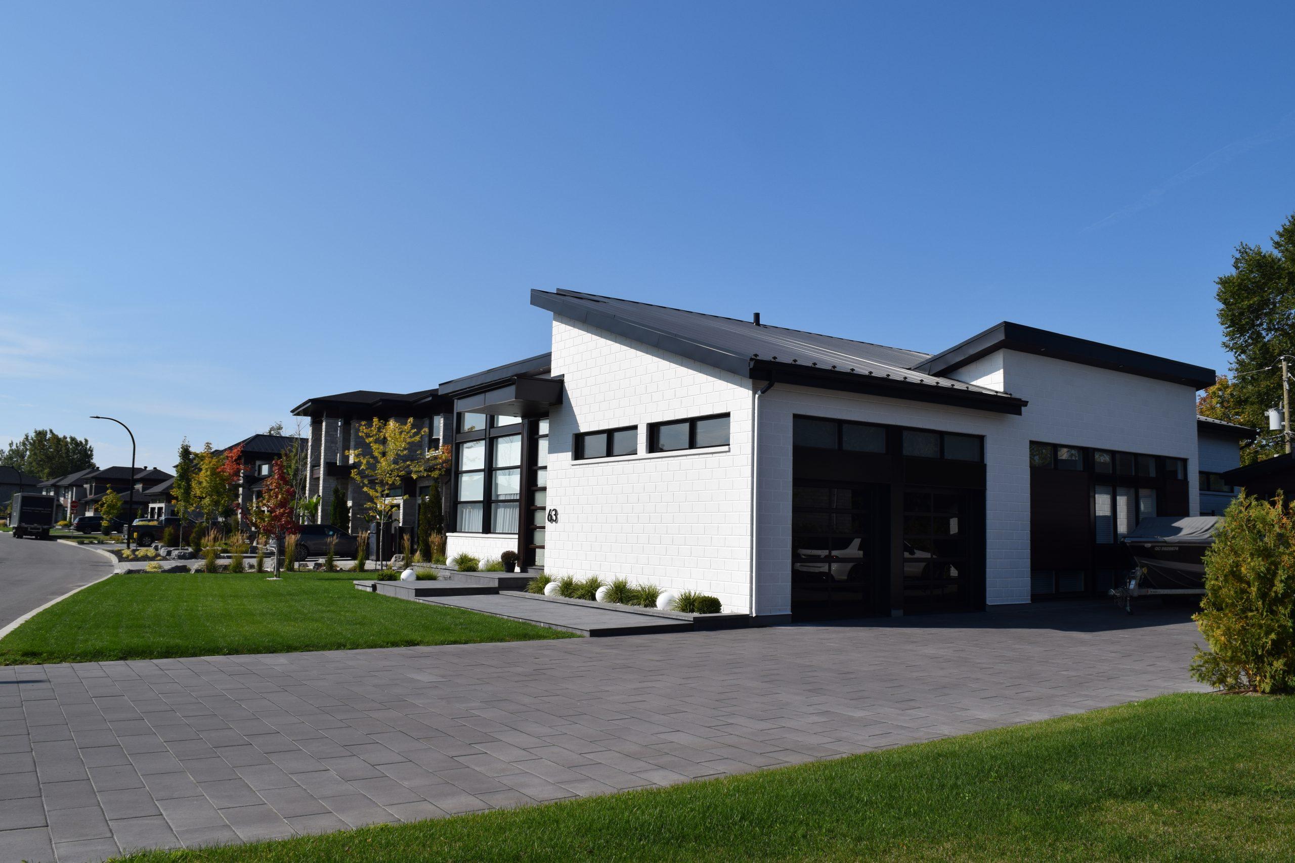 Pavé & paysagiste Boisbriand - Résidentiel - Commercial - Aménagement paysager - Stationnement mixte